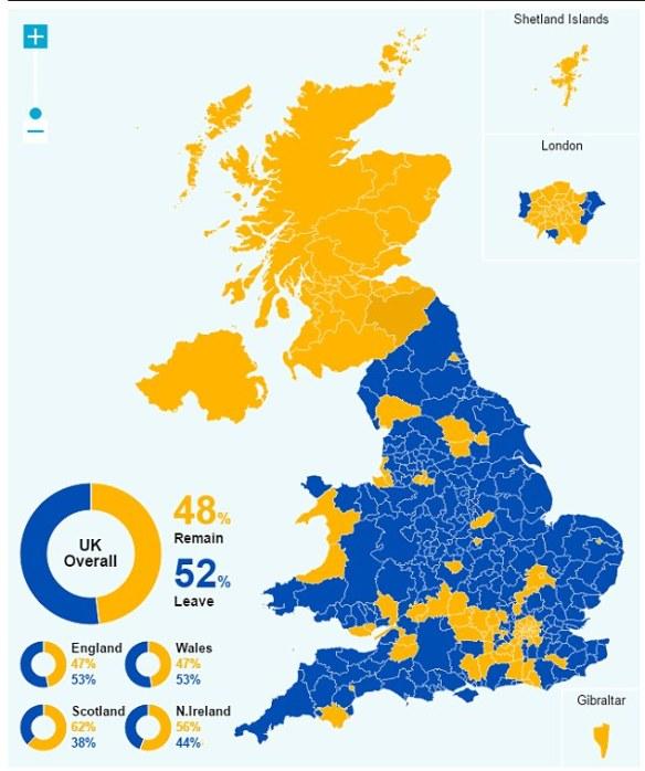 Brexit Heatmap